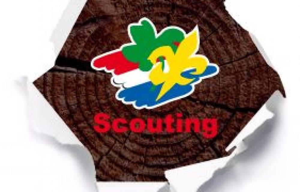 Begeleiding van groepen kinderen bij Scouting Holten